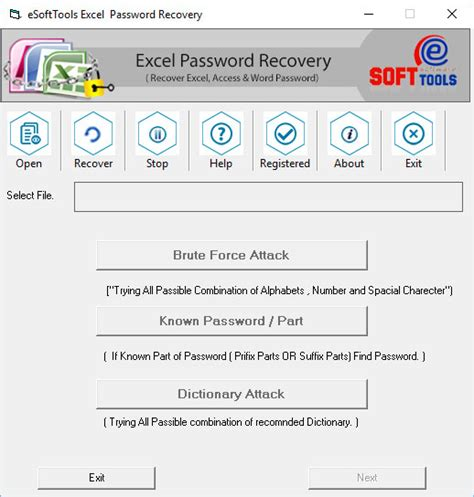 reset excel vba password free freware shareware xlsb password recovery downloads