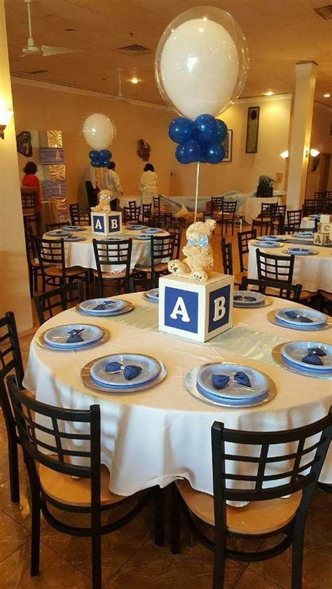 blue centerpieces for baby shower 15 easy to make baby shower centerpieces and decoration ideas