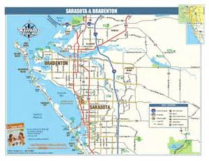 sarasota florida map area a map of beautiful sarasota