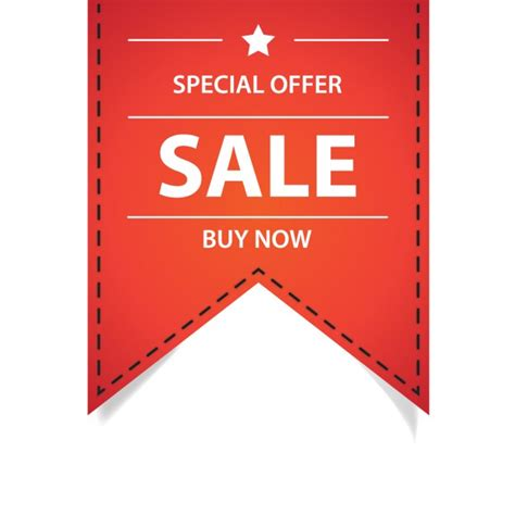best free offers special offer ribbon vector free