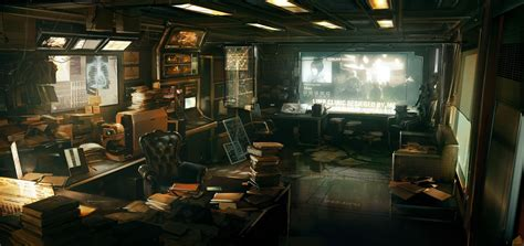 zeppelin design lab wallpaper video games cyberpunk futuristic concept