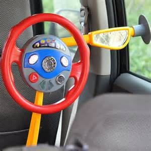 Children S Steering Wheel For Car Seat Back Seat Car Steering Wheel Toys Driving Horn