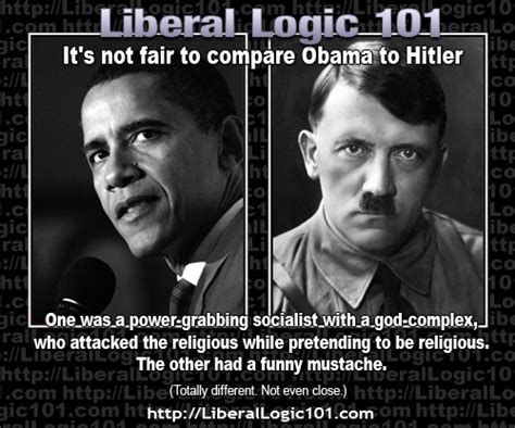 Obama Hitler Meme - it s not fair to compare obama to hitler trump land aka