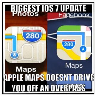 Ios Meme - the biggest ios 7 update weknowmemes
