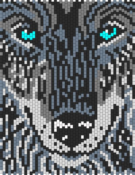 loom beading patterns free patterns animals cross stitch wolf bead pattern peyote bead patterns animals bead