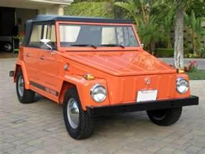 1973 volkswagen thing convertible 130965