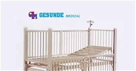 Bed Ranjang Bayi Anak Besi Stainless Tempat Tidur 1 Crank Engkol ranjang pasien anak bayi toko medis jual alat kesehatan