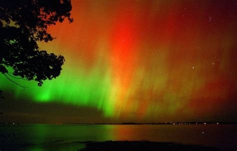 Northern Lights In Michigan by Michigan Among States With Chance To See