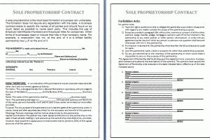 Fiduciary Contract Template Free Business Templates Fiduciary Agreement Template