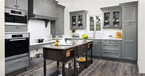 array of color inc paint kitchen cabinets messina maple finished in willow our beautiful new grey