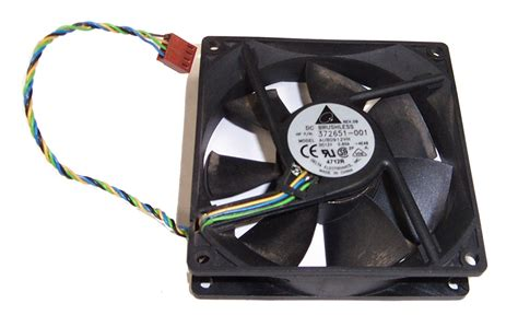 Hp 372651 001 Dc7100 Sff Dc12v Case Fan 4 Wire 4 Pin