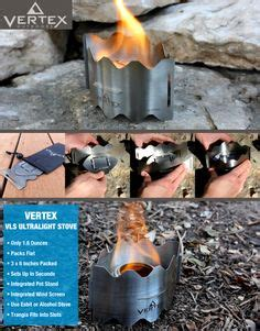 Vertex Vls Ultralight Stove 1000 images about cing backpacking on