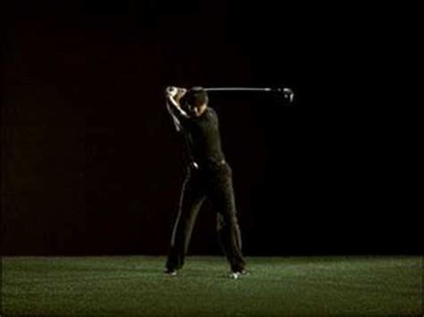 slow motion golf swing from behind tiger woods golf swing slow motion youtube