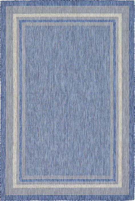 outdoor rug 6 x 9 blue 6 x 9 outdoor rug area rugs irugs uk