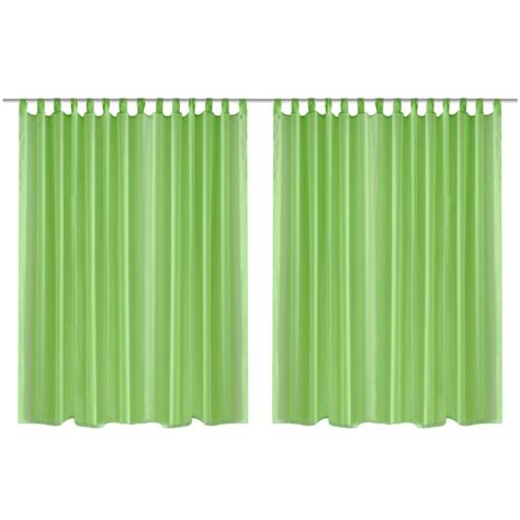 Pura Set by Articoli Per Set 2 Pz Tenda Pura 290 X 245 Cm Verde