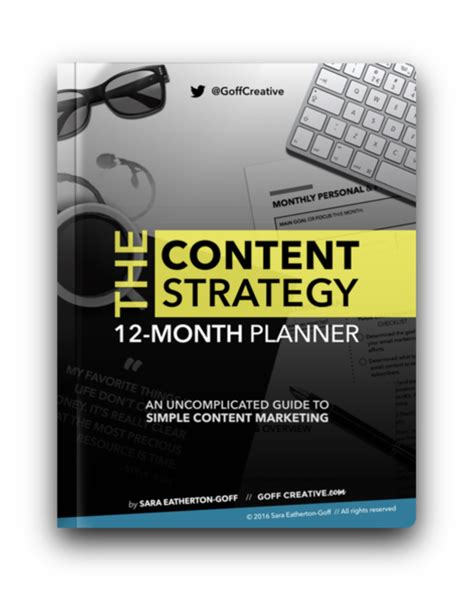 12 Month Mba Strategic Management by Buyer S Guide Which Content Strategy Planner Is