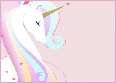 unicorn birthday card template unicorn invitation card invitations