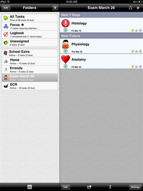 apps for errands errands ipad app review to do lists clever thoughts