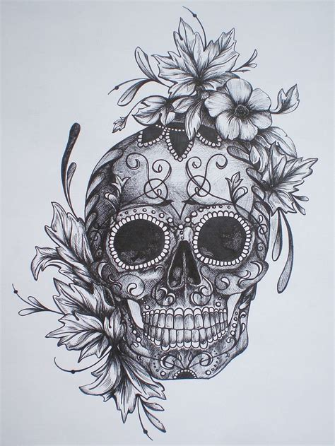 sugar skull tattoo designs tumblr 25 best ideas about skulls on sugar