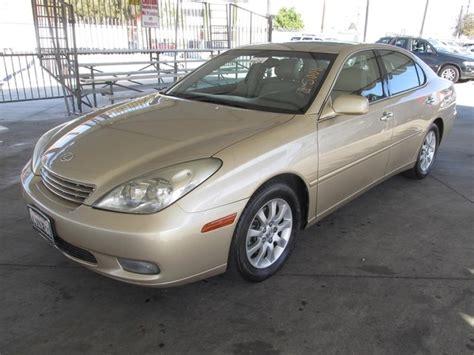 lexus loan calculator 2002 lexus es 300 cars and vehicles gardena ca