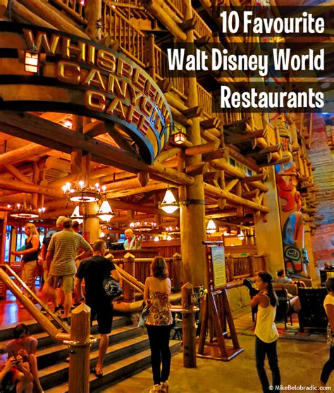 mike belobradic top 10 table service restaurants at walt disney world