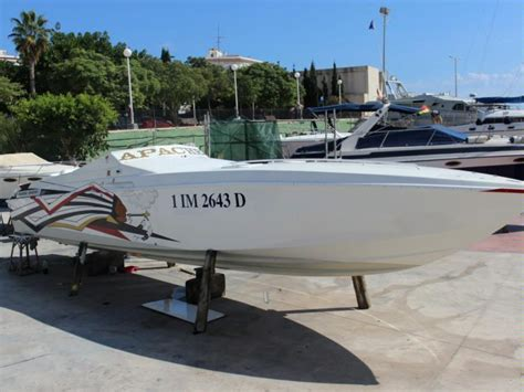 cigarette boat for sale spain apache cigarette in alicante power boats used 69504