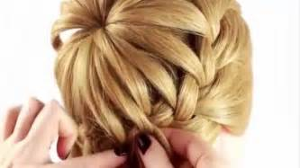 chignons coiffure simple et facile