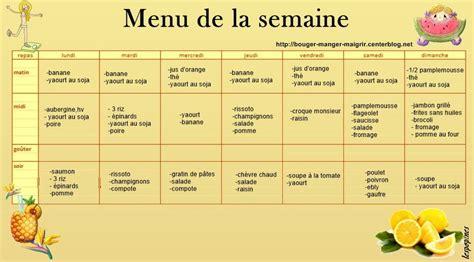 Menu Detox Pour Maigrir by Regime Dukan 15 Jours