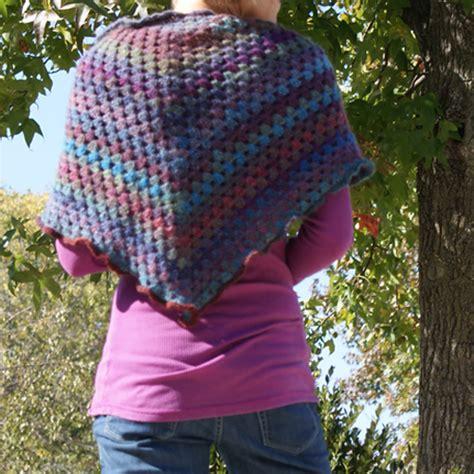 chrochet shawl pattern