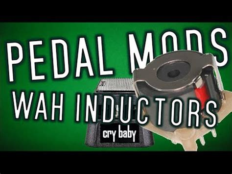 how to make wah inductor pedal mods wah inductors
