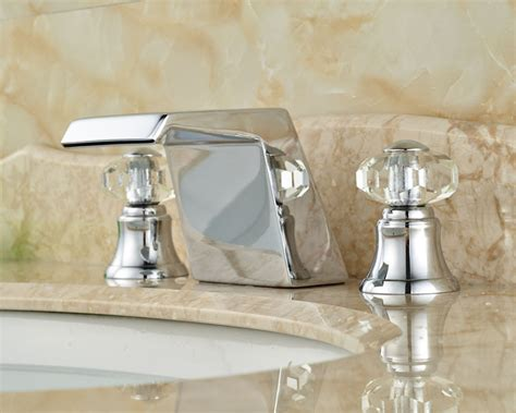 unique swarovski faucets for shower or sink by cotto unique design waterfall basin sink mixer taps deck mount