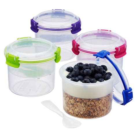 Sistema To Go Breakfast sistema klip it breakfast to go bento bowl the container store
