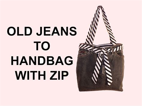 how to make a purse with diy fashion jean bag how to make a jean purse with zip