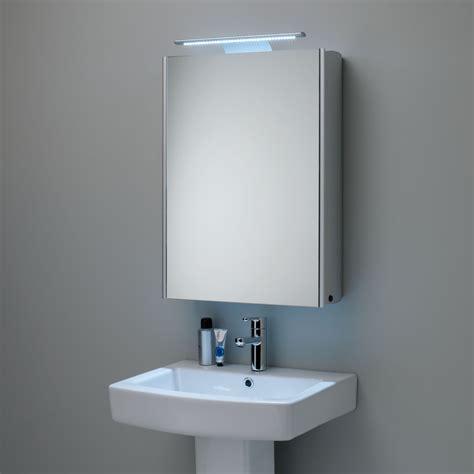 Buy Bathroom Cabinet by Buy Roper Equinox Illuminated Single Mirrored