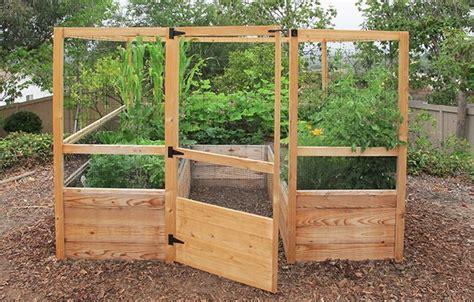 8 X 8 Deer Proof Family Garden Backyard Vegetable Deer Proof Vegetable Garden