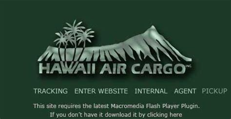hawaii air cargo