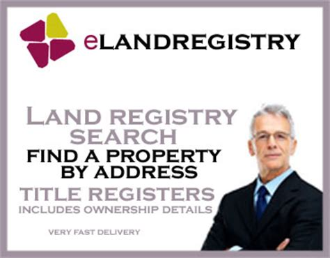 Land Registry Address Search Land Registry Uk