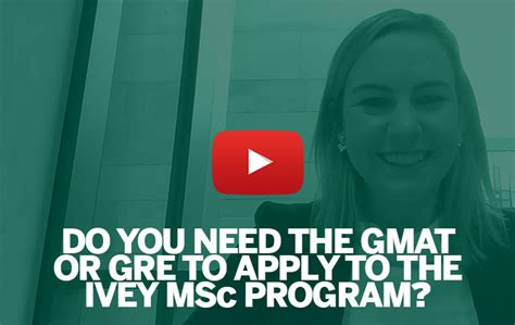 Ivey Mba Average Gmat by Master Of Science In Management Ivey Business School