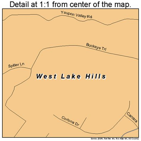 map of westlake texas west lake texas map 4877632