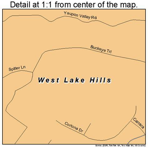 map of westlake texas west lake texas map 4877632