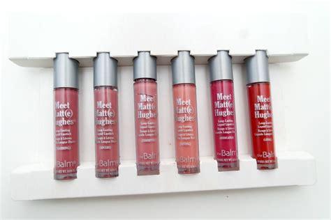 The Balm Mini Set 1 thebalm meet matte hughes mini liquid lipstick set the