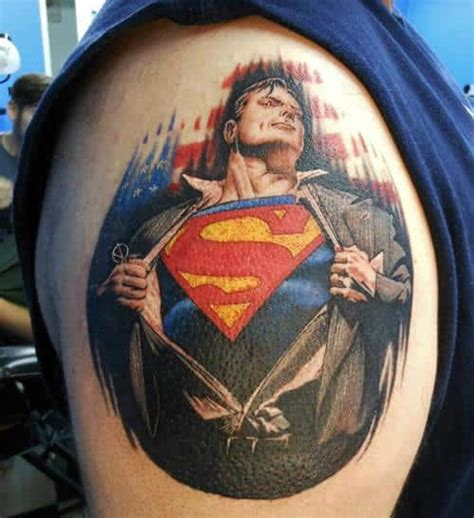 superman batman tattoo designs superman tattoos for ideas and inspiration for guys
