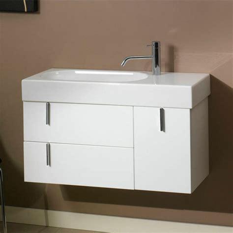 Ada Compliant Bathroom Sinks And Vanities Enjoy Ne1 Wall Mounted Single Sink Bathroom Vanity Set Includes Cabinet Sink Top Mirror