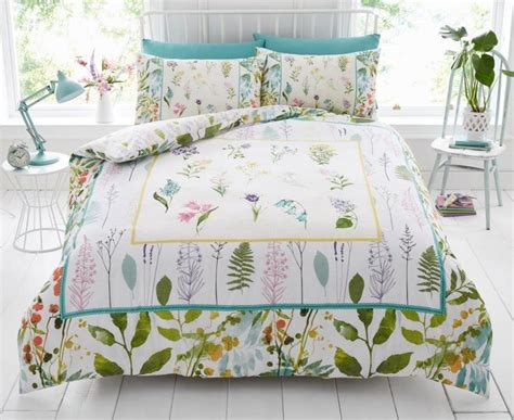 botanical bedding botanical leaf modern duvet cover bedding quilt set all