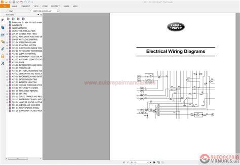 range rover sport wiring diagram pdf range