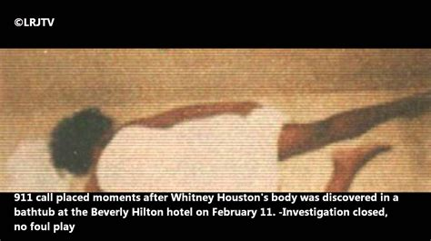 whitney houston dead in bathtub official whitney houston 911 call youtube