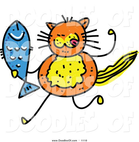 doodlebug clipart royalty free stock doodle designs of cats
