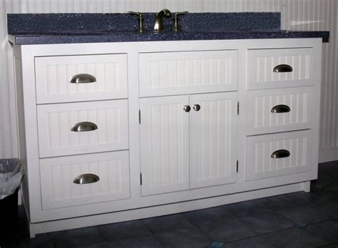 beadboard bathroom vanity vanities