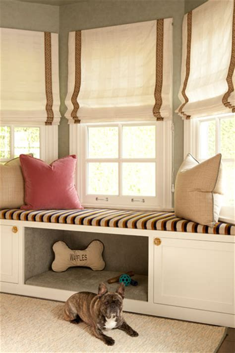 bay window seat bed built in bed transitional bedroom jenn feldman
