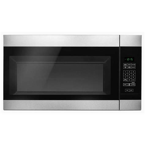 microwave store amana 1 6 cu ft over the range microwave in stainless